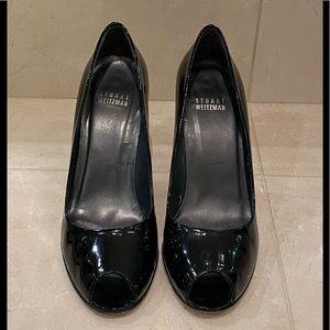 Stuart Weitzman Peep Toe Pumps - Size: 6 1/2
